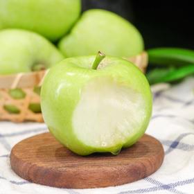 山西青苹果 一颗安心带皮吃的好青苹果 酸爽多汁 5斤装