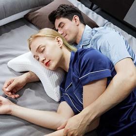 【办公午睡神器】 防压多功能午睡枕 记忆棉芯 ABS塑钢骨架 解放双手 承托腰部不悬空 舒缓身体疲劳