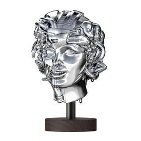 限量雕塑《WE STILL HUMAN》Pat Lee 31x33x52(高)cm