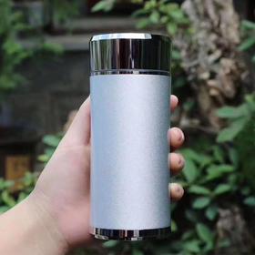 简单银杯*s999纯银足银内胆保健杯