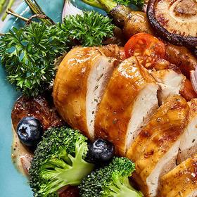 【半岛商城】优形低脂沙拉鸡胸肉100g*8袋