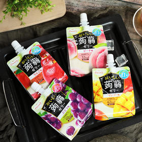 [tarami果冻低卡蒟蒻]清清爽爽 入口即化 150g/袋 6袋装(赠随机口味1袋))