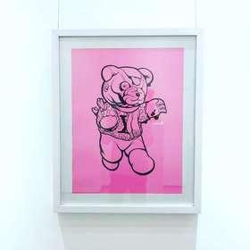原作《Infants War》Pat Lee  49×64 cm