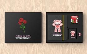 艺术衍生品《POWER OF LOVE》文创礼盒四件套 Pat Lee