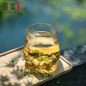 雅集 棱影玻璃杯家用女牛奶果汁网红高颜值水杯简约饮料耐热杯