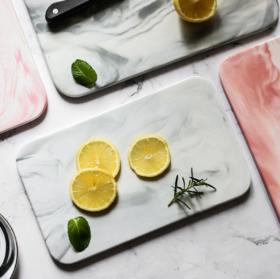 【陶瓷砧板】北欧简约大理石纹陶瓷托盘长方形餐盘砧板蛋糕寿司盘西餐面包平盘