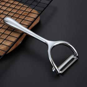 【水果刀】锌合金削皮刀水果去皮削皮器多功能刮皮刀刨刀瓜果去皮器