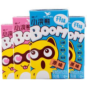统一小浣熊开味乳原味/草莓味125ml*4