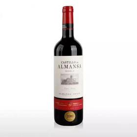 西班牙阿曼萨城堡窖藏干红葡萄酒14.5度750ML-961258