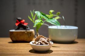 九华山炭烤黄精茶