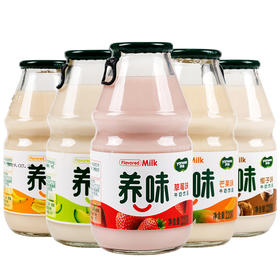 yanwee/养味 中性果奶 220g*6瓶/组