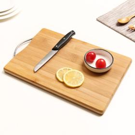 【菜板】家用厨房案板切菜板 简约迷你小号竹制防霉切板 面板菜板水果砧板