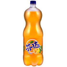 芬达 Fanta 橙味 汽水 碳酸饮料 2L 可口可乐公司出品-961297