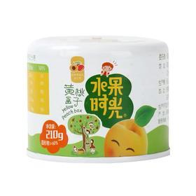 水果时光 黄桃罐头 固体含量大于60%  210g*3罐*2组 专业级儿童奶粉罐的材料制造