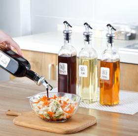 【油壶】油壶玻璃瓶 家用厨房用品防漏油瓶油罐酱油醋调味料瓶 厨房酱油瓶