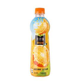 美汁源 Minute Maid 果粒橙 橙汁 果汁饮料 420ml 可口可乐公司出品-961327