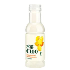 农夫山泉 水溶C100柠檬味 复合果汁饮料445ml-961337