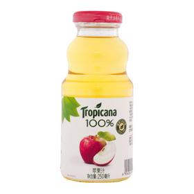 纯果乐 Tropicana 苹果汁 100%果汁饮料 250ml瓶 百事可乐出品-961324