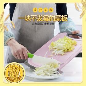 不发霉小麦秸秆切菜板 环保kang菌材质 不易打滑不易起屑 热卖