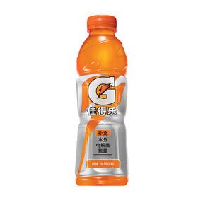 百事可乐 佳得乐水果味运动饮料600ml瓶果味饮料补充能量 夏季饮品 橙味-961379