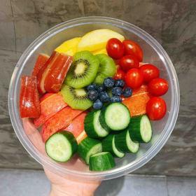 【享瘦】系列果盘 | 时令鲜果中挑选低卡低糖的6-8种水果组合成拼盘