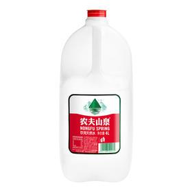 农夫山泉 饮用水 饮用天然水 4L 手提桶装水-961342