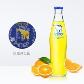 北冰洋 橙汁汽水248ml瓶 老北京玻璃瓶汽水碳酸饮料-961294