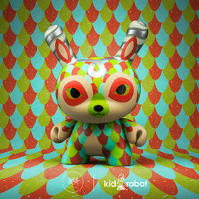 Kidrobot Dunny Horrible Adorable lope