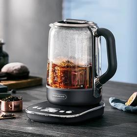 摩飞多功能升降煮茶器办公室全自动小型养生壶家用大容量花茶壶MR6088