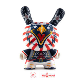 Kidrobot Indie Eagle Dunny by Kronk