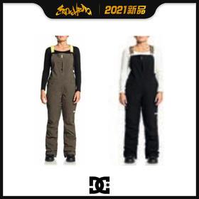 DC 2021新品预售 COLLECTIVE BIB 女款 背带裤