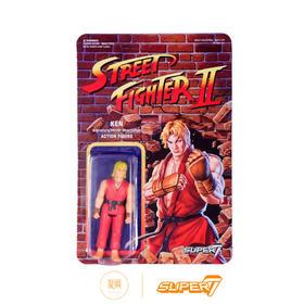 Super7 街头霸王2 Ken 肯 3.75寸 街霸挂卡