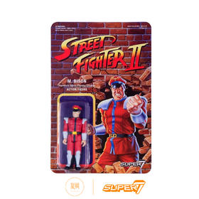 Super7 街头霸王2 M.Bison 拜森  3.75寸 街霸挂卡