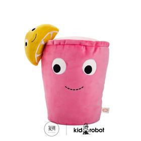 Kidrobot 美味世界 Yummy World 粉红柠檬汁毛绒玩具