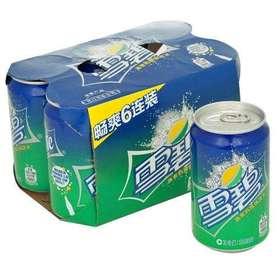 雪碧330ml*6 罐装
