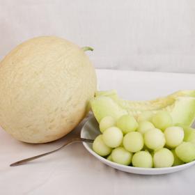【应季上新】民勤白兰瓜 翡翠挂肉 皮薄肉厚 每一口都是夏季冰凉