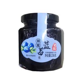 阳光伟业蜂蜜蓝莓茶238g