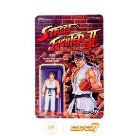 Super7 街头霸王2  Ryu 隆 3.75寸 街霸挂卡