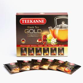 Teekanne 伯爵大吉岭柠檬茉莉锡兰阿萨姆进口红茶包袋泡混合装组合