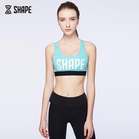 趁早SHAPE 经典logo款运动健身内衣 女 透气防震跑步胸衣CZ6Q1003