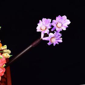 RHX045新款民族风木质简约缠花簪子TZF