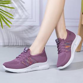 LH504新款爆款飞织透气舒适休闲运动健步鞋TZF