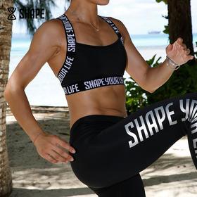 趁早SHAPE 专业运动文胸女宽肩带防震聚拢定型防震健身内衣8Q2011