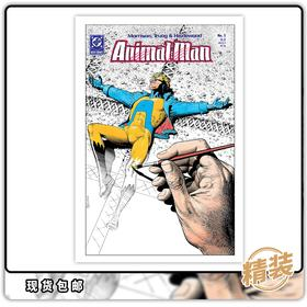 漫画合集 Animal Man By Grant Morrison Book 1 30周年精装特别版