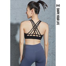 趁早SHAPE性感美背聚拢瑜伽训练bra胸衣女运动跑步内衣9Q2056