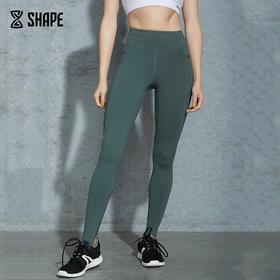 趁早SHAPE 超弹踩脚瑜伽训练裤子女提臀收腹运动紧身裤9Q2008