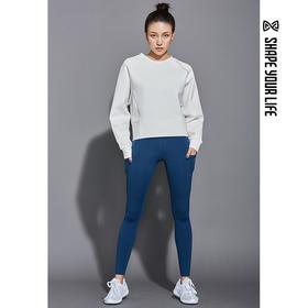 趁早SHAPE训练跑步瑜伽健身长裤女 收腰提臀弹力运动紧身裤9Q3068