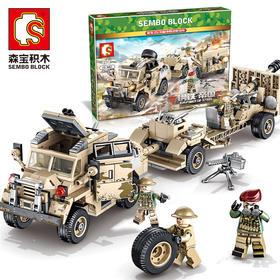 【军事系列】美军25磅榴弹及牵引车