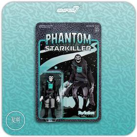 Super7 弑星幽灵 黑灰 Phantom Starkiller 挂卡