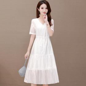QYM-TYH-206048气质女神范收腰显瘦高端洋气裙TZF